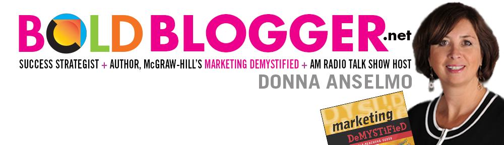 DONNA ANSELMO WRITES BOLDBLOGGER.net
